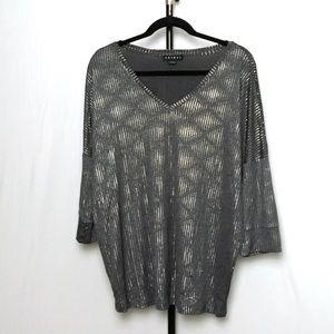 Tribal shimmer blouse